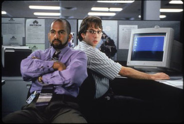 Office Space Movie Samir & Michael Bolton Picture
