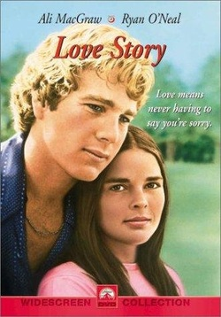 Love Story 1970 movie poster