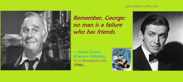Its a Wonderful Life 1946 Movie Quote Picture