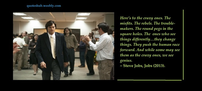 Jobs 2013 movie quote picture