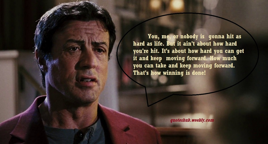 Rocky balboa movie quotes quotes hub - Rocky wallpaper with quotes ...